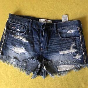 High Waisted Hollister Jean Shorts